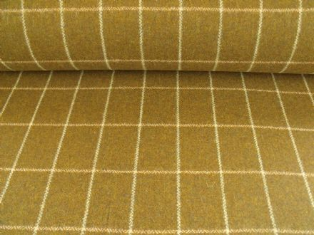 Country Tweed Windowpane Check Fabric AZ06
